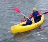 Canoa en el río Cabriel