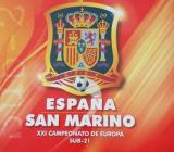 ESPAÑA- SAN MARINO SUB-21