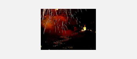Img 1: Fiestas mayores en honor a la Virgen del Castillo de Cullera