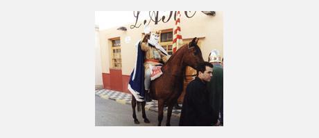 Img 1: Rei Pàixaro, en honor de San Antonio Abad