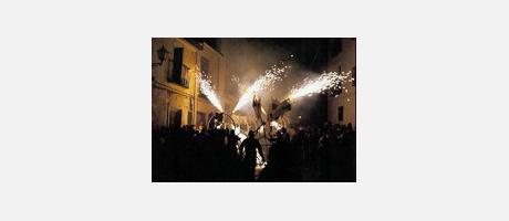 Img 1: Festividad del Turista en la Cala de Finestrat