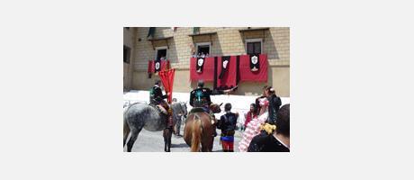 Img 1: Fiesta de Moros y Cristianos en honor a San Hipólito