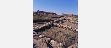 "Img 1: The ""Cabeza Lucero"" iberian archeological site"