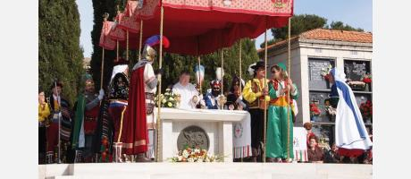 Img 1: Fiestas de Moros y Cristianos en honor a San Jorge Mártir