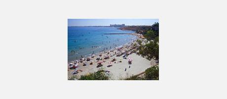 Cabo Roig Beach (Caleta Beach)