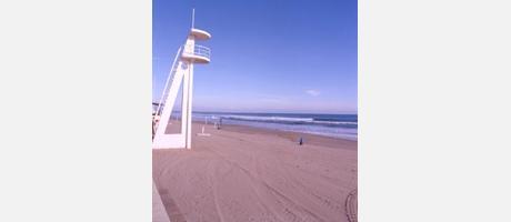 Img 1: Playa Centro / Centre