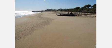 Foto: playa de La Romana en Alcalá de Xivert- Alcossebre