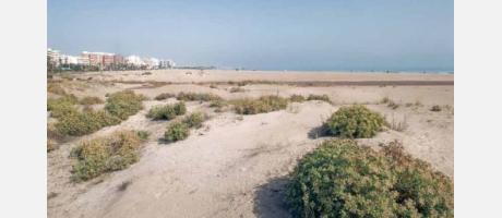 Foto: Playa del Puerto de Sagunto