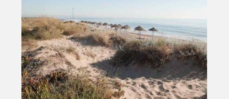 Foto: Playa de La Garrofera