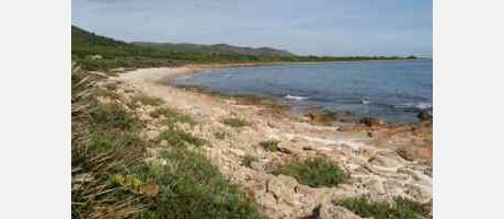 Img 1: La Reserva Natural Marina de Irta