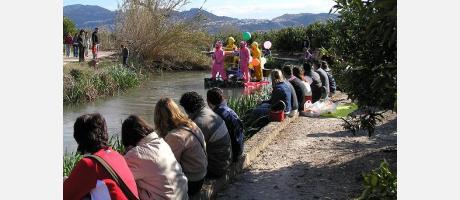 Img 1: Descenso del río Bullent en Pego