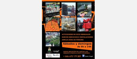 Flyer Rastro El Verger