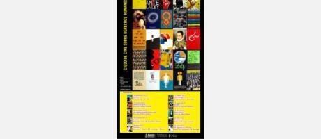 Cartel oficial del ciclo de cine de Amnistía Internacional