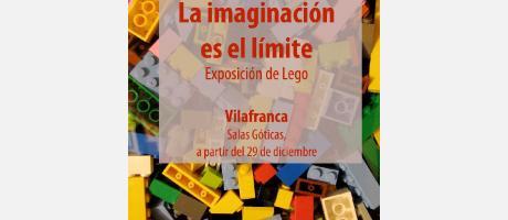 """Img 1: """"La imaginación es el límite"""": Exposición de Lego en Vilafranca."""