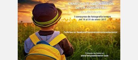 Cartel del concurso de fotografía de Temps