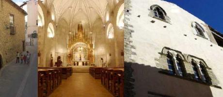 Img 1: Visitas guiadas al Museo de la Piedra en Seco, la Iglesia parroquial y el Ayuntamiento de Vilafranca.