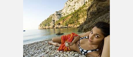 Foto de playa de la Comunitat Valenciana (Xabia)