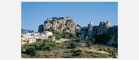 Imagen del Castell de Guadalest