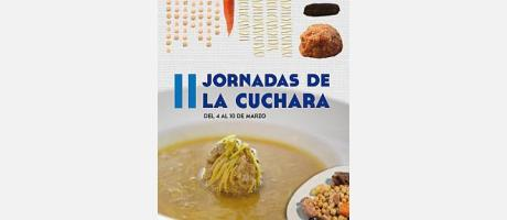 Cartel Jornadas de la Cuchara - Benidorm