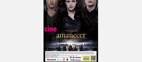 """Img 1: Cine en el Centro Cultural de Onil: """"Amanecer parte 2"""""""