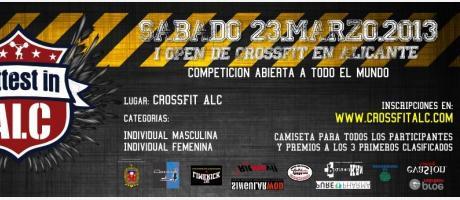 Img 1: Fittest in Alc. Primer Open Nacional de CrossFit.