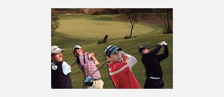Imágenes de los participantes en el Open de Golf 2013