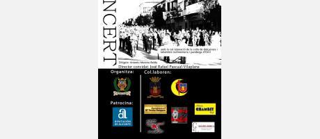 """Img 1: Concierto de """"Música Festera"""" Onil 2013"""