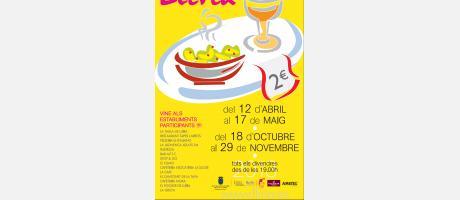"""Cartel informativo """" de Tapes per Llíria"""" 2013"""
