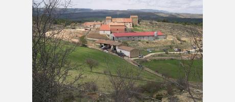 Img 1: Rogativa a la ermita de Santa Lucía de Castellfort.