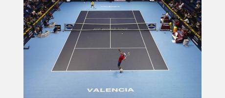 Pista del Open 500 Valencia