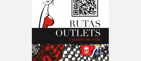 Portada folleto rutas outlets de calzado de Elda