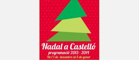 Cartel Nadal a Castelló
