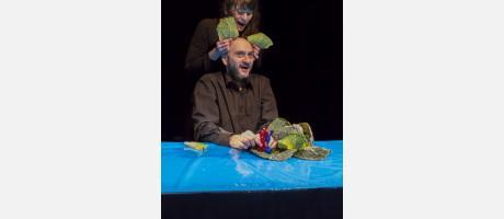 Teatro Infantil Cie. PHILIPPE GENTY  presenta 'La llamada del mar