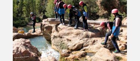 Rafting en el río Cabriel con Avensport