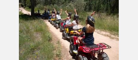 Rutas en quad eléctrico. Cofrentes Turismo Activo