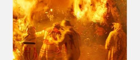 La fiesta del fuego