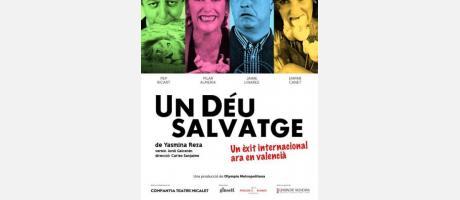 Teatre en valencià en Palau Altea: Un Déu Salvatge