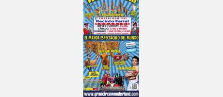 Cartel oficial Gran Circo Wonderland