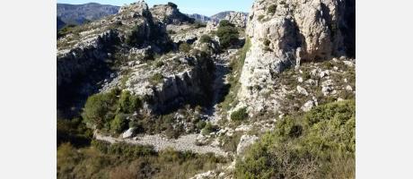 Serra de Aitana en Confrides con Arrels
