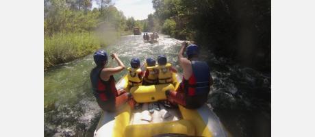 Rafting con Hocesventura