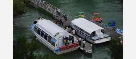 El Jücar en barco con SuAventura