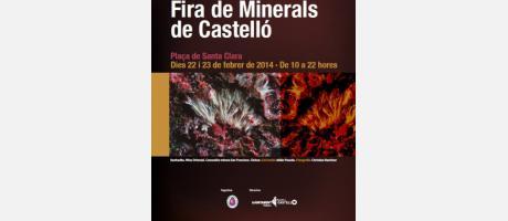 cartel oficial feria de minerales