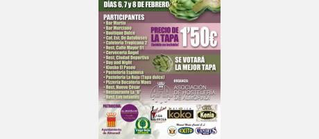 Tapas, alcachofa, almoradi, vega baja, costa blanca, comunidad valenciana