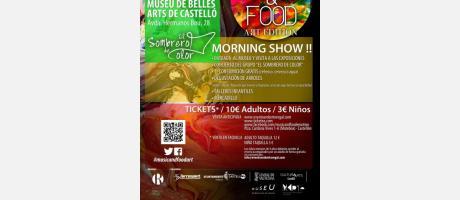 Cartel oficial Music & Food