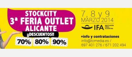 Stockcity 3ª Feria Outlet Alicante 2014
