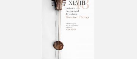 XLVIII CERTAMEN INTERNACIONAL DE GUITARRA FRANCISCO TÁRREGA