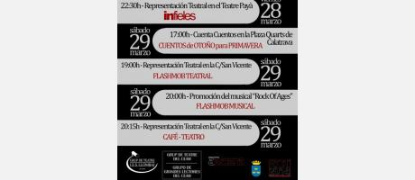 Programación I  Semana del Teatro Burriana