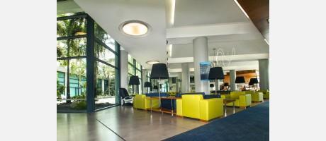 Recepción Hotel Deloix, Benidorm