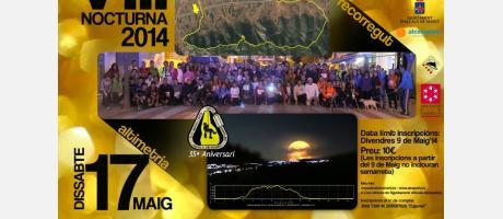 Marcha senderista nocturna 2014