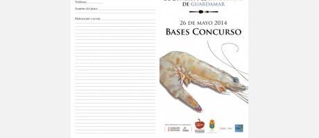 Ficha inscripción VII Concurso Cocina Ñora y Langostino